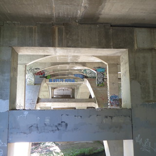 under the freeway graffiti very nice