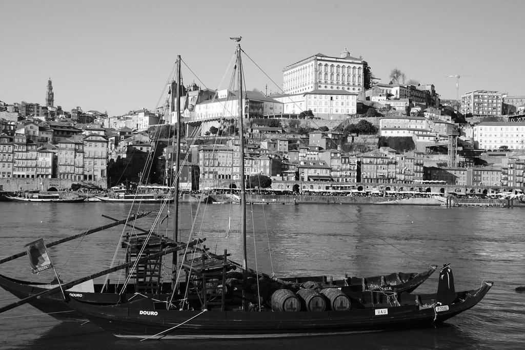 Porto - Douro river, rabelo boat and the Historic Center /…   Flickr
