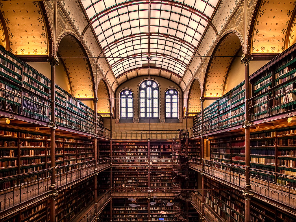 The Cuypers Library This Beautiful 19th Century Library Is
