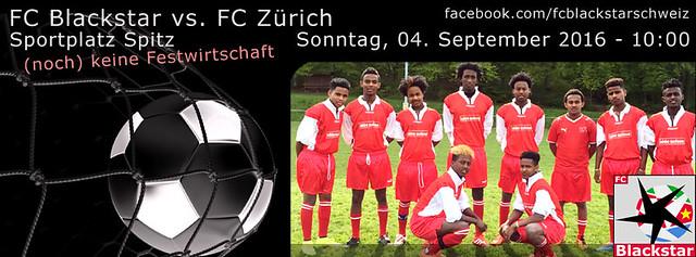 FC Blackstar vs. FC Zürich vom 04.09.2016 - 10:00