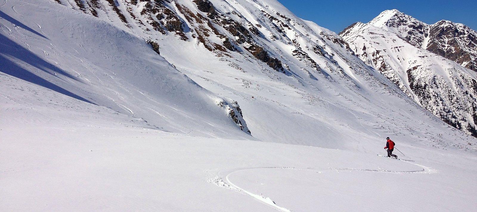 Bezejmenný vrchol Krugtörlspitze