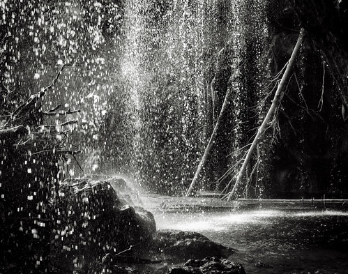 bw lake water blackwhite waterfall colorado hanging wilderness