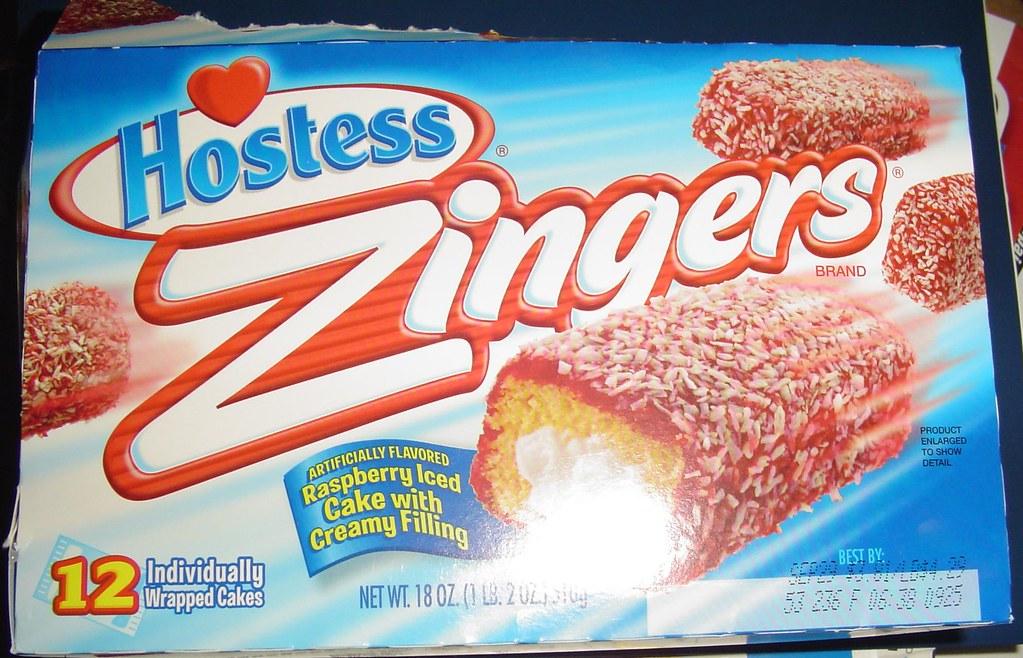 Hostess Raspberry Zingers ( Was My Favorite Hostess Cake