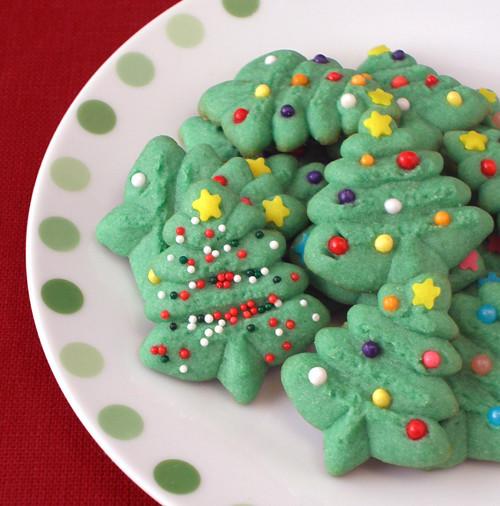 Christmas Tree Spritz Cookies Spritz Cookies Are So Butter Flickr