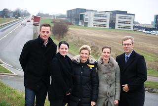 Besøg hos Arla i Holstebro og TMP Hydraulik i Stuer   by Ellen Trane Nørby