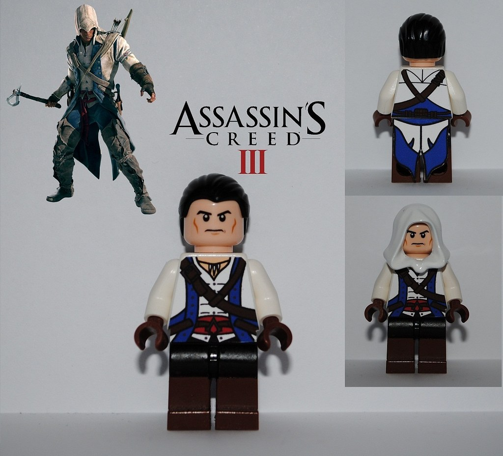 Assassin S Creed Iii Connor Kenway I Added Connor S Design Flickr