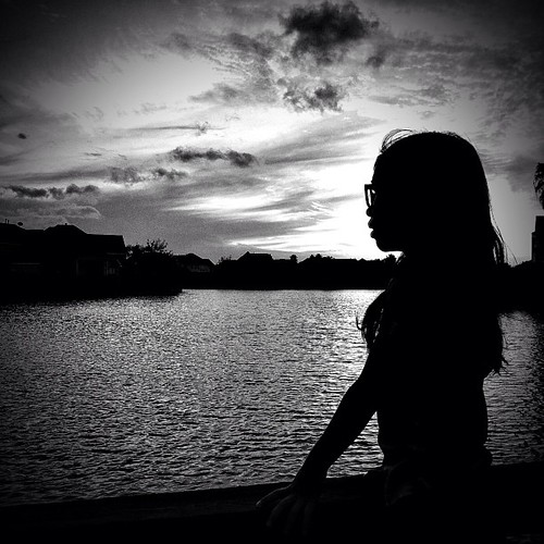 sunset blackandwhite silhouette square squareformat iphoneography instagramapp