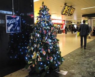 Tree of Life in Euston Station