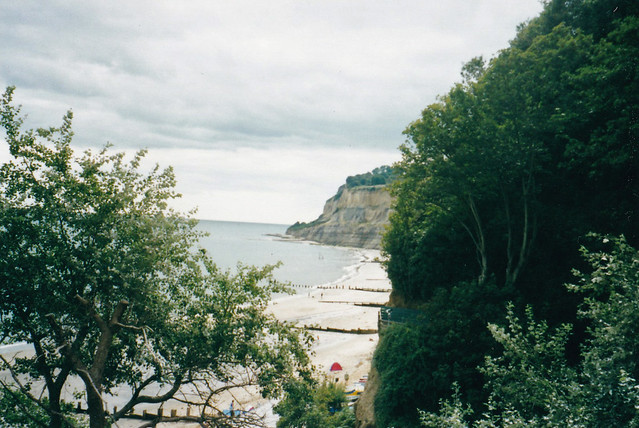 Knock Cliff at the south end of Shanklin