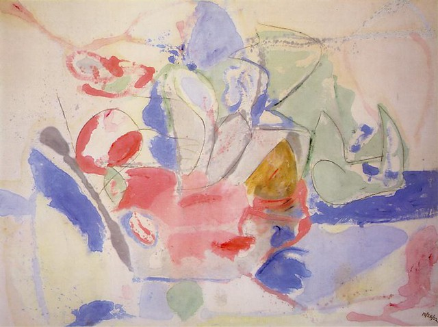 Mountains and Sea by Frankenthaler