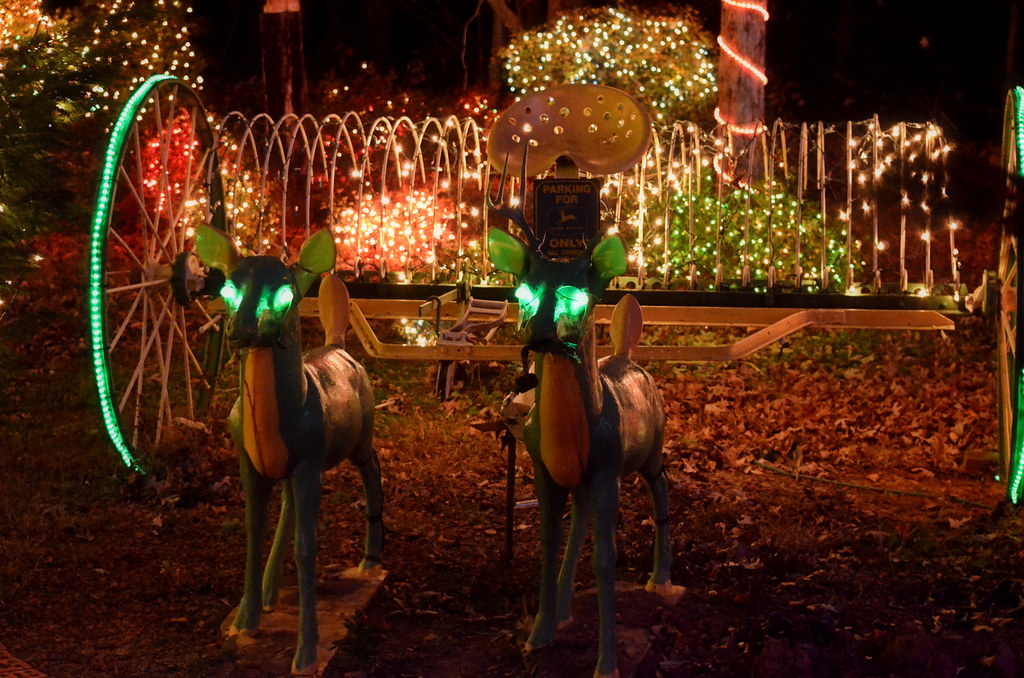 Redneck Christmas Lights.2012 11 23 45 North Caroline Redneck Christmas Lights