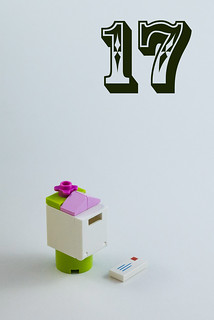 Day 17: Letter box and letter | by The LEGO woman