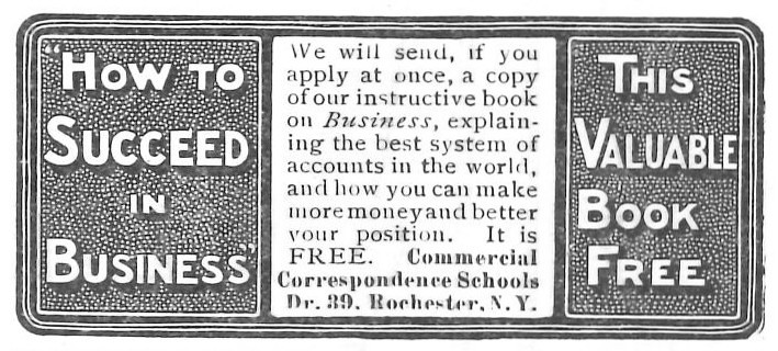 Commercial Correspondance Schools - 19020816 Post | Jon