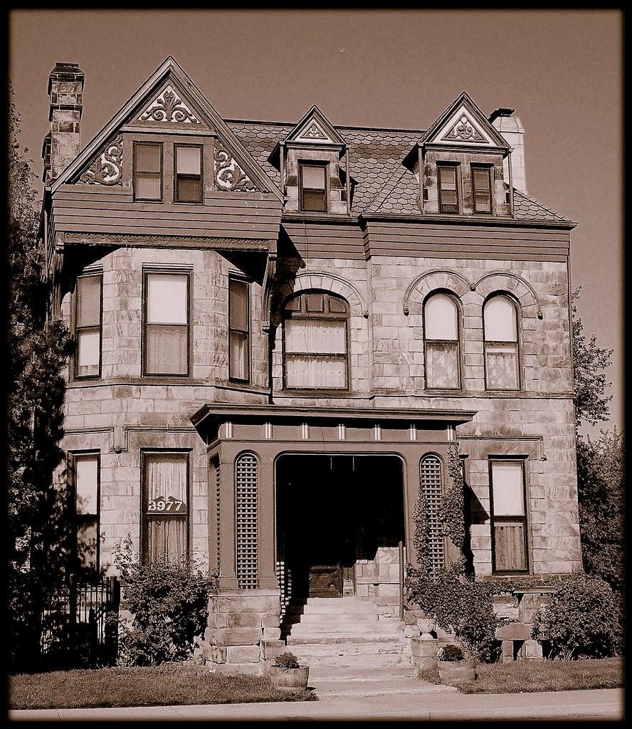 Campbell Symington House, 3977 Second Avenue (Sepia Versio