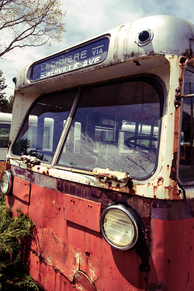 Classic MBTA Bus | looks like what would be called #87 today… | Flickr