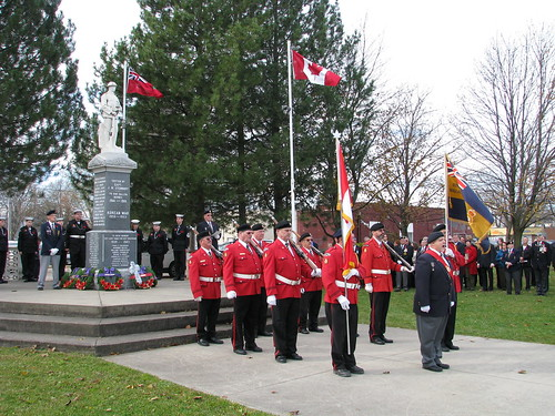 Honour guard after the ceremony | by LKM Federal Liberals
