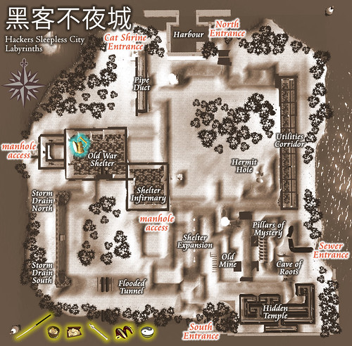 labyrinth-map | by iliveisl