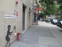 Help Zabars Save this Banksy Graffiti Street Art 3611