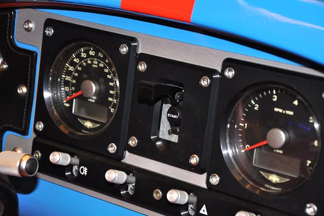 Morgan 3 wheeler dash