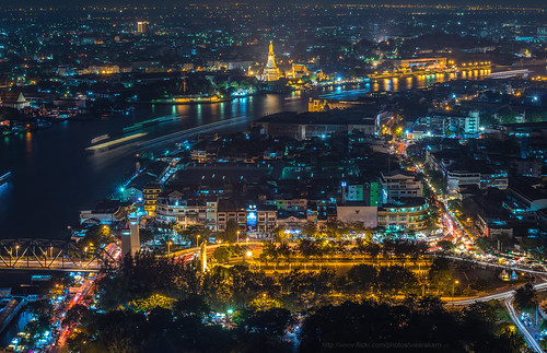 Bangkok cityscape | by Weerakarn