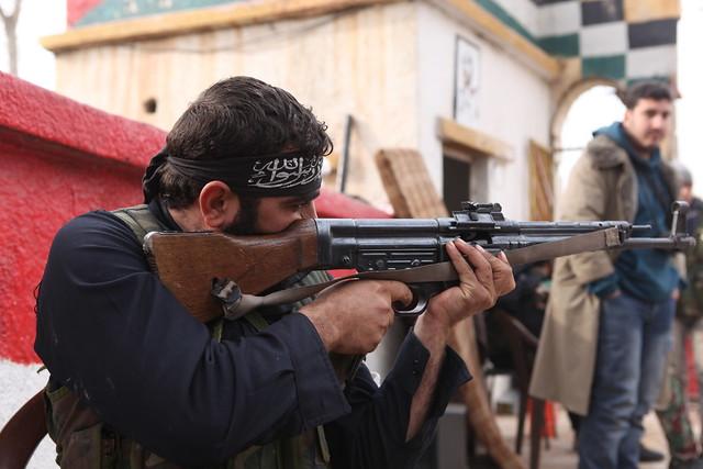 Syria / Syrien 16.12.2012  IMG_6484 deutsches Sturmgewehr 44 STGW