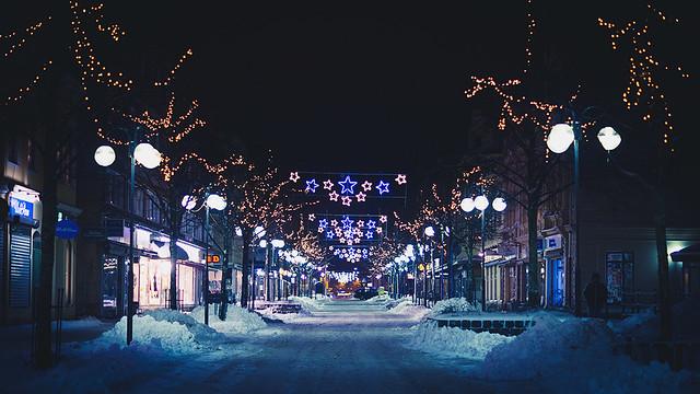 Day 360/365: Downtown Christmas Lights
