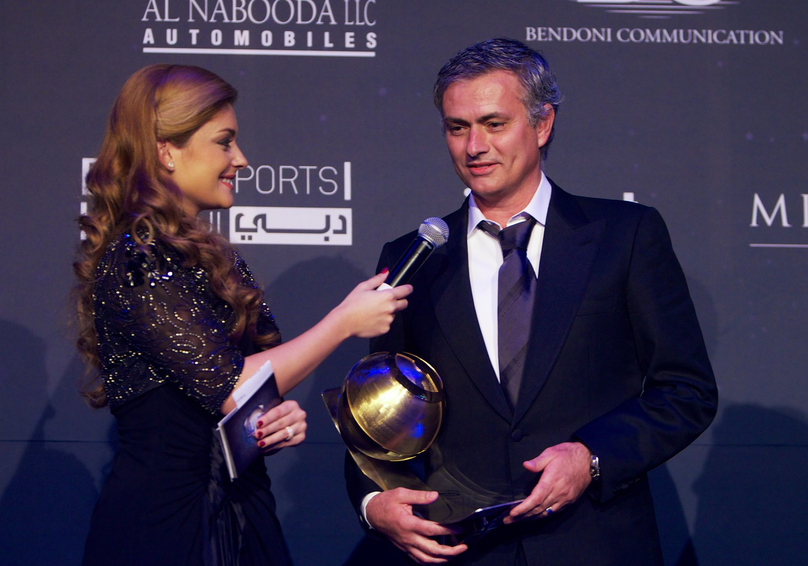 Josè Mourinho - Best Coach of the year Award