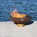 The Font O' Fire Sculptural Firebowl Print Quality Photos
