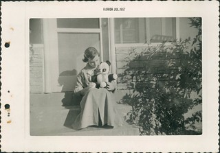 Nancy and Friend | by Betty Wood's Family Tree