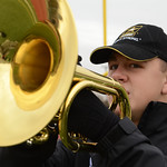 Joseph Baldwin Plays for the All-American Band
