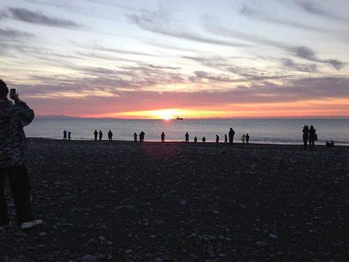 sunrise newyear oigawa
