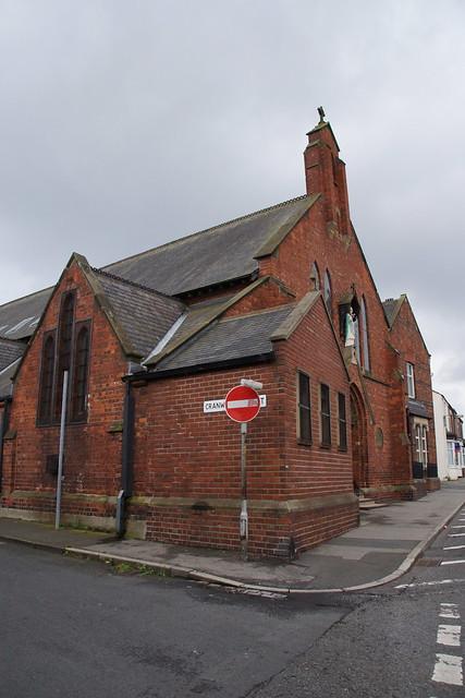 Side view - St. Patricks R.C. Church, Thornaby