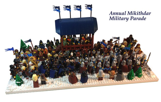 Annual Mikithdar Military Parade