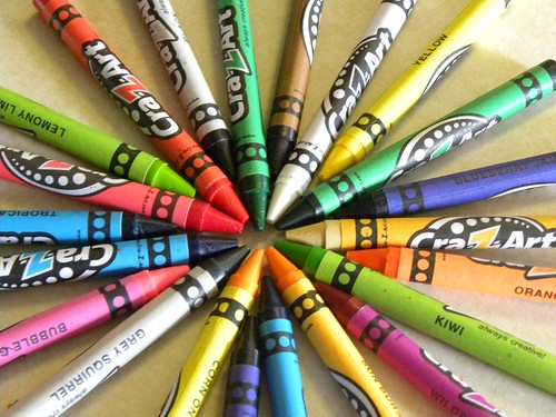 Crayons, Coloring | by Hobbies on a Budget