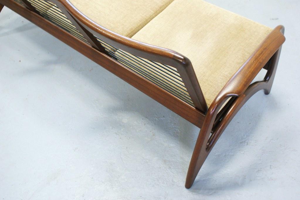 Ongekend Vintage teak bank sofa jaren 50 60 De ster Gelderland Topf…   Flickr AI-35