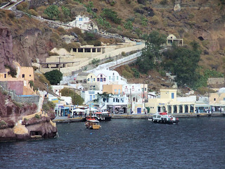 Greece - Santorini - Quayside