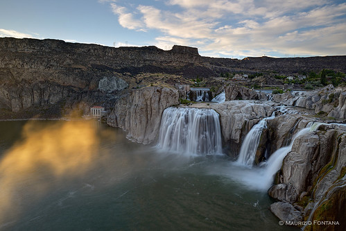 idaho snake river nikon d800 sunset shoshone falls usa landscape
