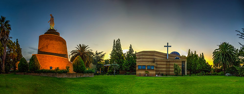 maronite church ourladyoflebanon catholic southafrica johannesburg woodmead sunset sunrise panoramic hdr pano panorama colors