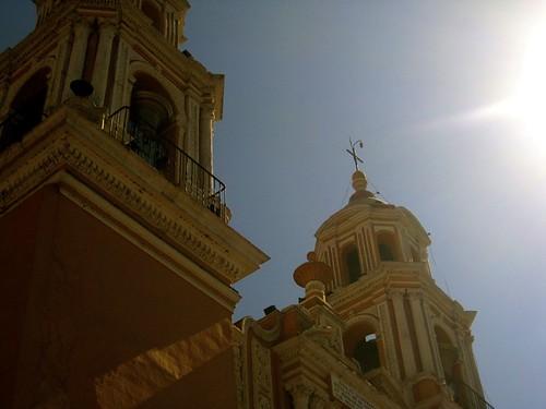 Iglesia de los remedios, Cholula, Puebla,