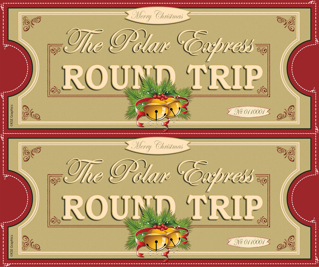 graphic regarding Free Printable Polar Express Tickets known as Polar Specific tickets Entrance 2up Crimson Free of charge PRINTABLE Polar E