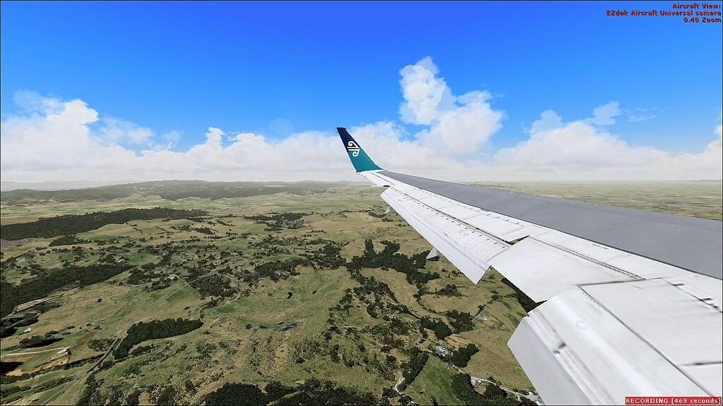 Landing in Auckland | FSX Level D 767 Enroute YBBN-NZAA