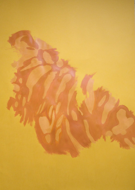 2012.12.12 Underpainting for Mahogany