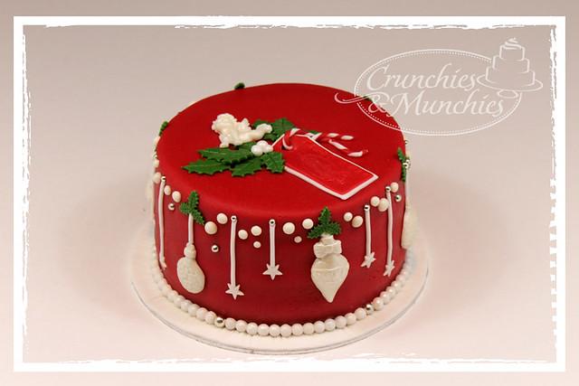 x-mas cake for Yvonne