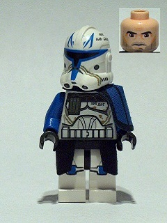 Lego Star Wars 75012 Phase 2 Captain Rex Figure So The Ba Flickr
