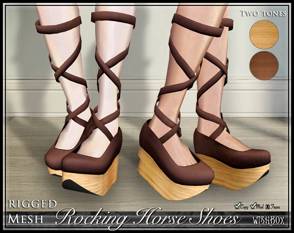 Rocking Horse Shoes (Cocoa)