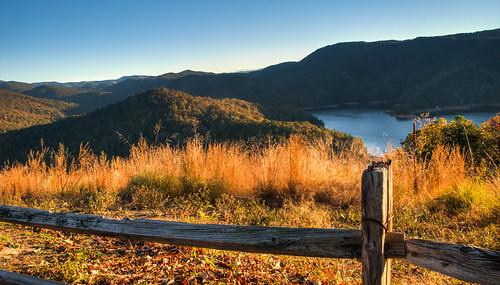 mountain lake fence flickr southcarolina herowinner