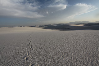 Leave only footprints | by chriswrightmedia