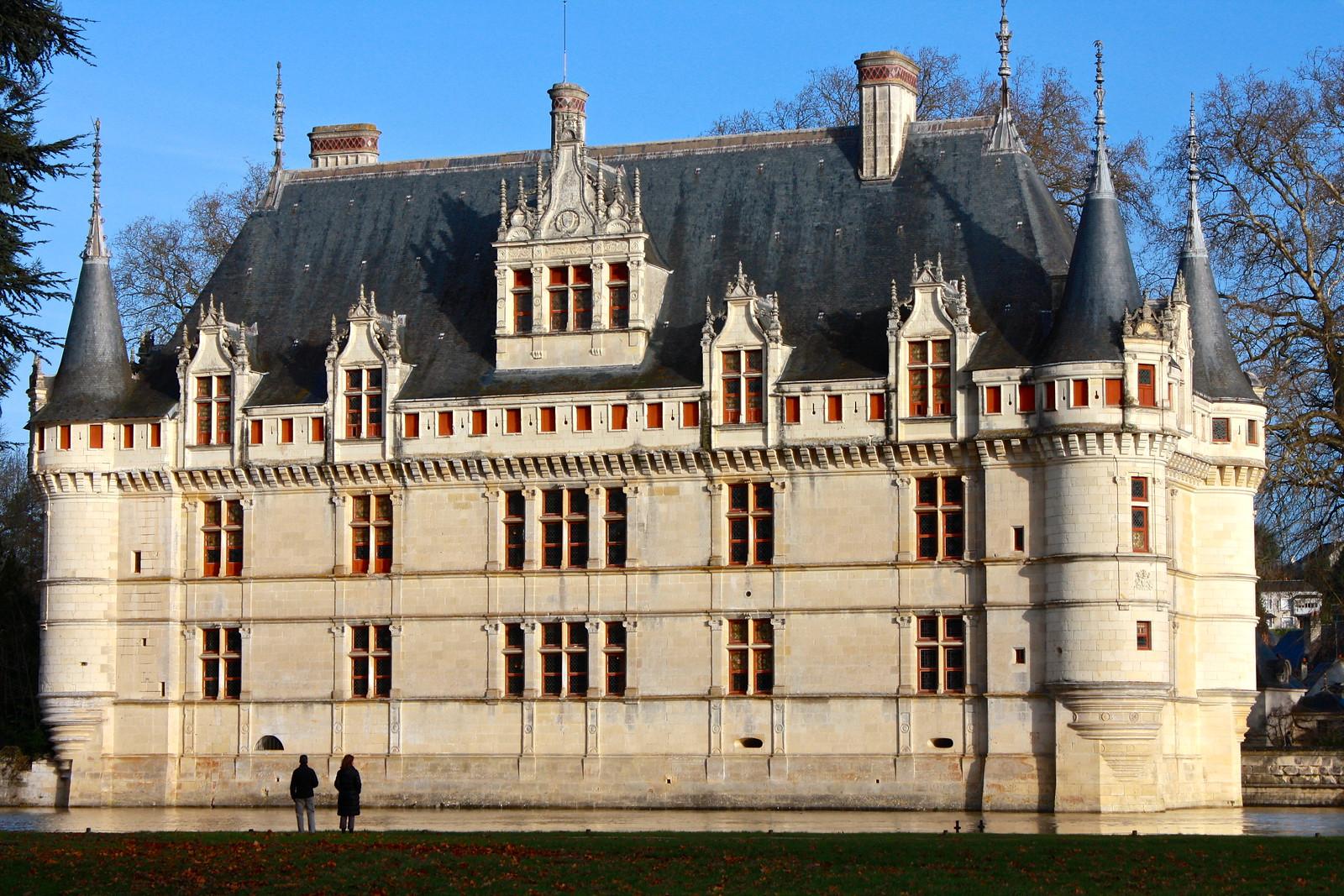 Château d'Azay-le-Rideau, France