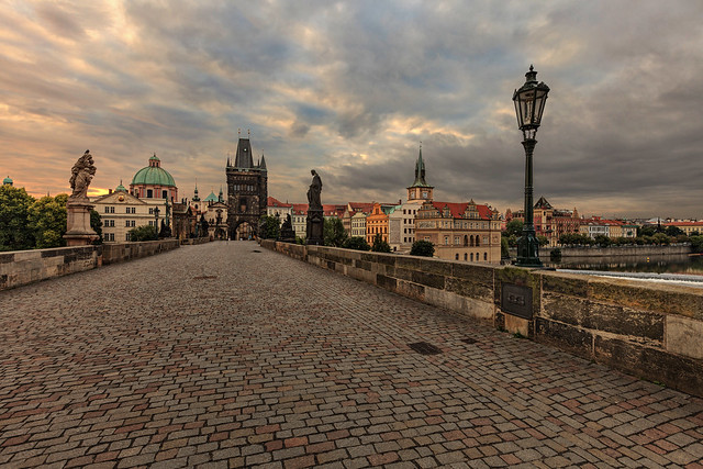 Next: Prague from Charles Bridge