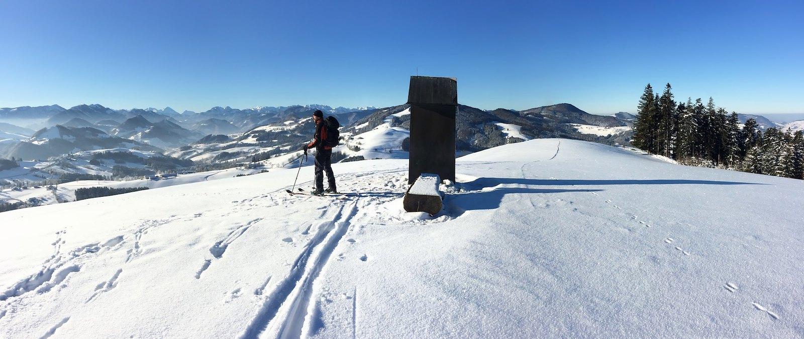 Bezva lyžařský den